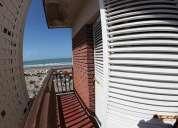 Departamento con balcon con vista al mar.