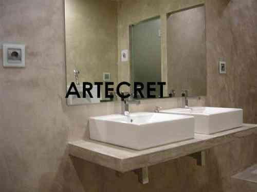 Micro cemento mar del plata artecret reformas - Microcementos del norte ...