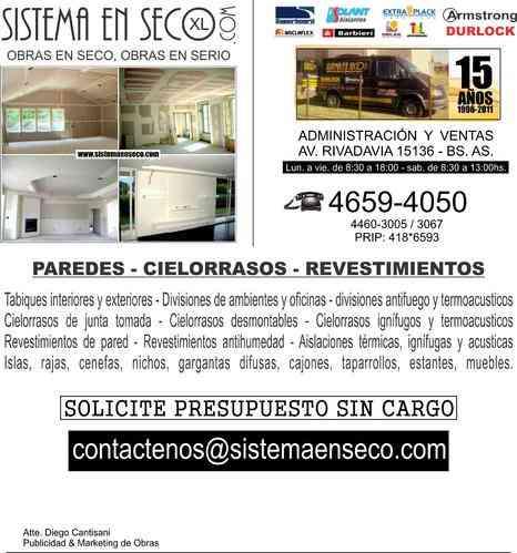 Construccion en durlock zona norte san isidro doplim for Muebles de oficina en san isidro