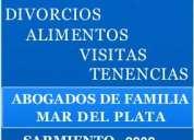 Abogada de familia mar del plata dra trassens 4862727 / 155458788
