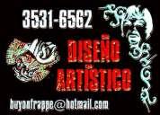 DiseÑo artÍstico - lábaros, gigantografías, arte de tapa, video d