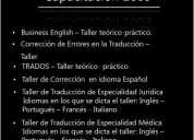 Cursos de capacitaciÓn para traductores