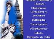 Traductores públicos matriculados de inglés