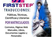 First step traductores pÚblicos matriculados