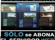 Diseño web profesional + mails @suempresa.com.ar + hosting