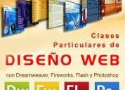 Clases cursos particulares de diseño web con dreamweaver...