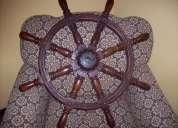 Vieja rueda de timon