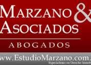 Estudio jurídico marzano & asoc. a b o g a d o s - especialistas