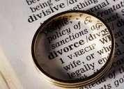 Abogados sucesiones, despidos, desalojos, divorcios, penal