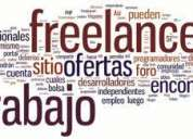Trabajo freelance ( telemarketing )