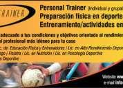 personal trainer - salud y rendimento deportivo