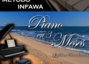 Aprenda piano  en 3 meses metodo revolucionario