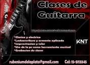 Clases de guitarra la plata, clasica y electrica