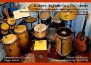 clases de batería y percusión (zona once)