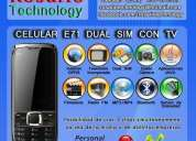 Celular e71 dual sim, tv, libres (envio gratis rosario) $350