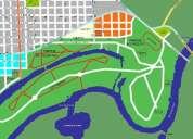 Plano de gualeguay en archivo de imagen