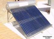 Termotanque solar, agua caliente gratis!!!