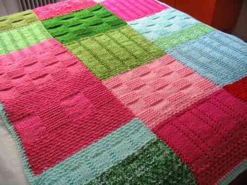 Tejidos de crochet cobijas imagui for Mantas de lana hechas a mano