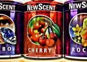 Repuesto aromatizante new scent- precios por mayor y menor
