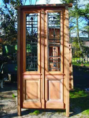 Puertas recicladas a nuevo pilar doplim 90532 for Puertas recicladas