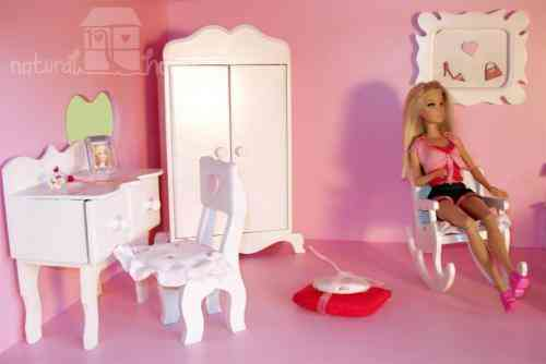 Muebles de munecas barbie la plata doplim 91158 for Muebles para barbie