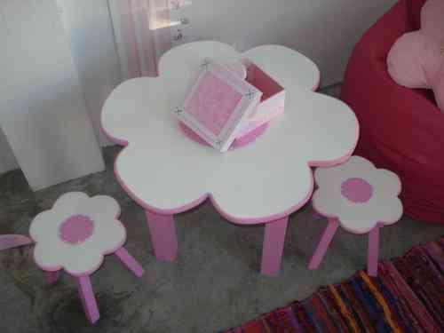 Juego de silla y mesa para ni os moreno doplim 91469 - Juego de mesa y sillas para ninos ...