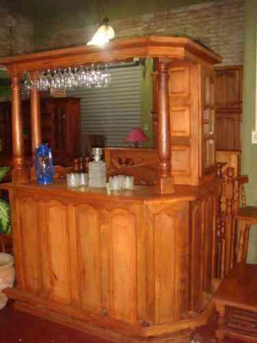 El artesano algarrobo mesas sillas modulares los Mueble de algarrobo modular
