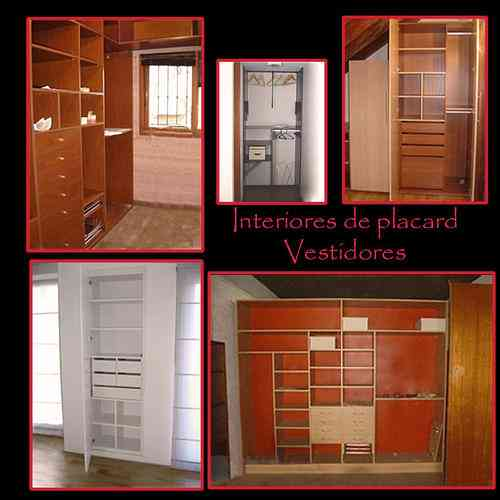 Interiores de placard y vestidores san isidro doplim for Interiores de placard