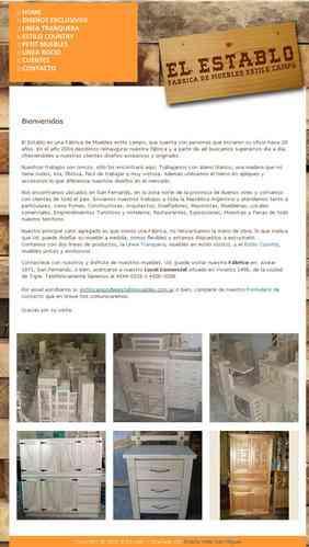 Fábrica de muebles de pino en San Fernando | El Establo Muebles