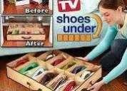 Shoes under organizador de zapatos 12 pares