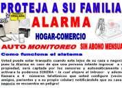 Alarmas para casas comercios instalacion alarma