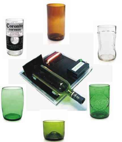 Maquina para cortar botellas de vidrio fabrica vasos floreros chacabuco doplim 92532 - Fabrica de floreros de vidrio ...