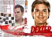 Dexter temporadas 1, 2 y 3 completas en dvd!!!!