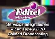 Copiado betacam - beta digital - hd cam - dv cam - u matic - dvd