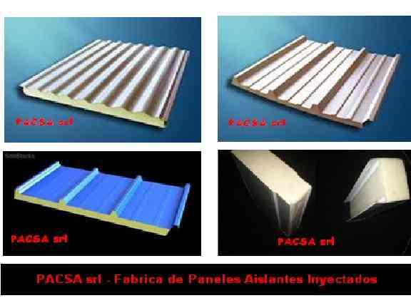 Fabrica de panel placa sandwich modular aislante termico for Panel aislante termico