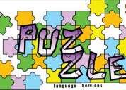 Clases de inglés y español!