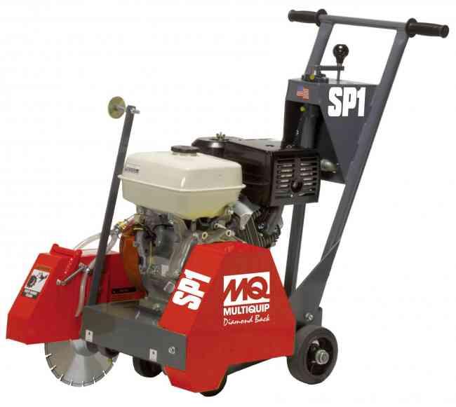Aserradora de pavimentos multiquip para corte de hormig n for Corte de pavimentos de hormigon