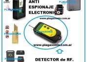 Detector rastreador de r.f. seguridad electrónica modelo g-100