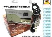Estabilizador electrónico de tension plagasonix 1500 y 2000 watts