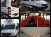 Turisimo j a c empresa de traslados en combis y minibuses