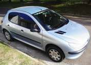 Peugeot 206 diesel-100.000km 1.9 a/a c/c d/a alarma