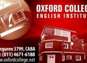 Curso de inglés oxford college floresta