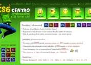 Cs6 centro diseño gráfico   diseño web   edición de vídeo   cursos de photoshop, illustrator, .