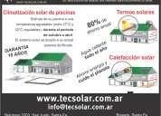 Climatizacion solar de piscinas y calefacción de agua sanitaria solar
