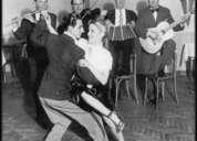 Bailarines de vals tango milonga a domicilio