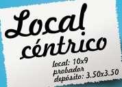 Local en alquiler en centro / microcentro (general pico)