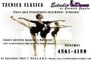 clases de danza clásica principiante-intermedio-avanzado