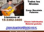 Clases de guitarra clasica recoleta pablo pellegrini