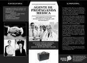 """Visitador medico """"apm"""" (agente de propaganda medica) 1año y medio"""