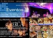 Organizacion de eventos y fiestas empresariales